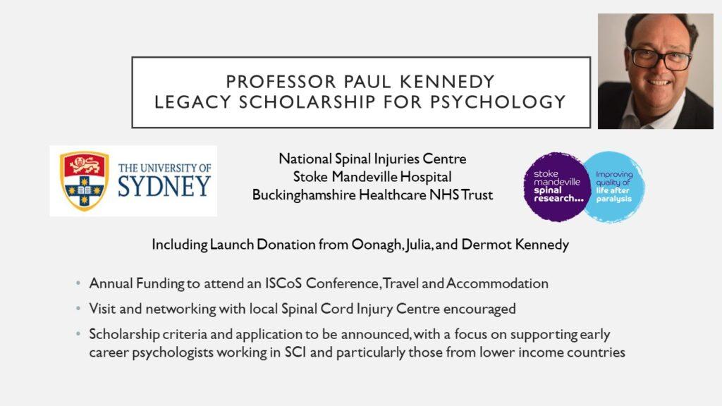 Paul Kennedy ISCoS Award